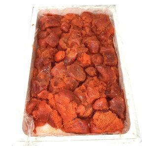 たらこ (甘塩)2kg入り業務用・国内加工【おにぎり・お弁当・パスタ・ご飯のお供にお使いいただけます】(冷凍便)