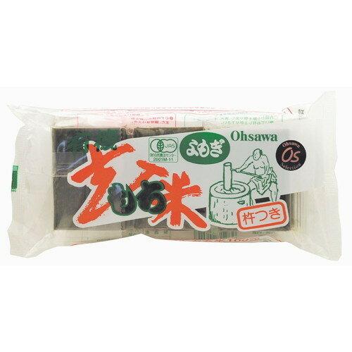 【まとめ買い価格】よもぎ入玄米もち 300g(6コ)×10袋セット 【オーサワ】