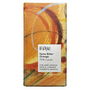 ViVANI オーガニックダークチョコレート オレンジ 100g【アスプルンド】