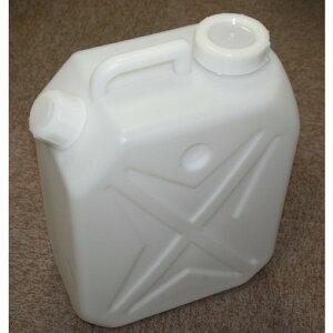 水缶20Lポリタンク2口ノズルなし×5個セット