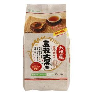 九州産古代米使用 五穀大黒茶 240g(15g×16袋) 【創健社】