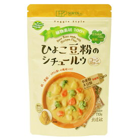 ひよこ豆粉のシチュールウ (110g) 【創健社】