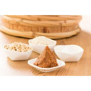 自然栽培 手作り味噌セット 中辛 (約3kg)玄米麹タイプ 【マルカワみそ】