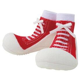 Baby feet Sneakers-Red スニーカーズレッド (11.5cm)※ラッピング200円熨斗170円必要【楽ギフ_包装】【楽ギフ_のし】【ベビーシューズ】