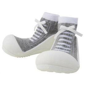 Baby feet Sneakers-Gray スニーカーズグレー (11.5cm)※ラッピング200円熨斗170円必要【楽ギフ_包装】【楽ギフ_のし】【ベビーシューズ】