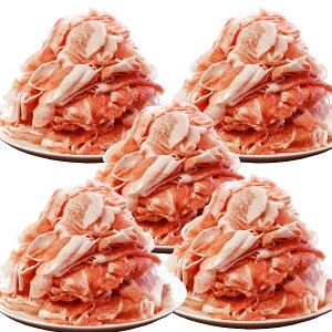 【送料無料】国産 豚こま切れ 5kg 国産豚切り落とし 九州産 特大ボリューム