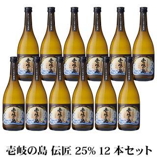【A】壱岐の島伝匠25%720ml12本セット1ケース