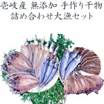 【無添加】【B】壱岐の手造り干物セット「大漁」