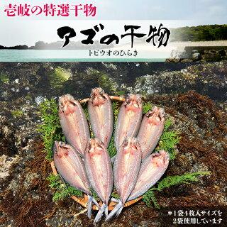 トビウオ(九州ではアゴと呼ばれています。)はその名のとおり海面を飛ぶ魚です