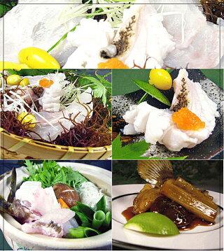 壱岐長崎の天然くえ。鍋やしゃぶしゃぶ