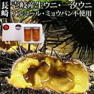 【AA】壱岐のたから長崎県壱岐産無添加生うに一汐うにの食べ比べ2本セット