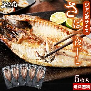 ジャンボ さば一夜干し 鯖 送料無料 ポイント消化 瞬干 5枚 国産 サバ 開き 肉厚 大判 干物 焼き魚 特大サイズ ギフト プレゼント 2020