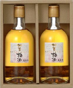 萬歳楽 加賀梅酒720ml2本セット