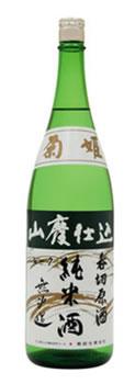 菊姫 山廃純米呑切原酒1800ml【2018年7月詰】