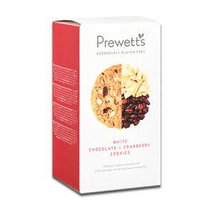 プレウェッツ(Prewetts)ホワイトチョコレートクランベリークッキー※ラッピング不可【賞味期限2021年3月13日】