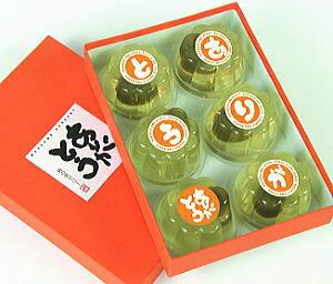 【送料無料】ありがとうメッセージ入り梅の実ゼリー【6個入り×8箱セット】 お中元