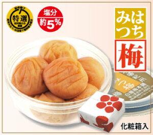 紀州南高梅 はちみつ梅・160g化粧箱入塩分控えめ南高梅蜂蜜たっぷり上品な甘さに仕上げました。食べやすい中粒・塩分約5%