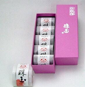 うめ八 「珠玉」5粒 個包装 梅干し ギフトボックス 紙箱入り