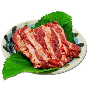 【国産】【馬肉】【焼肉用】焼肉用さくら肉 バラスライス 1kg【旬食福来】【福島プライド】【ふくしまプライド】