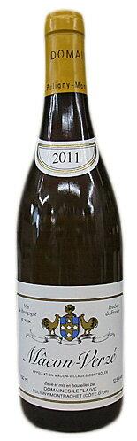 [2011]ドメーヌ・ルフレーヴマコン・ヴェルゼ750ml(フランスブルゴーニュ・白ワイン)