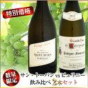 【特別価格】サン・トーバン vs ピュリニー 飲み比べセット (フィリップ・コラン ポール・ペルノ)