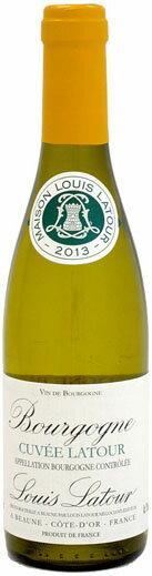 ハーフ瓶 ルイ・ラトゥール ブルゴーニュ・キュヴェ・ラトゥール・ブラン [2014]375ml (白ワイン)