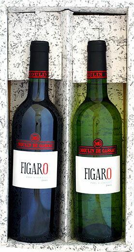 【送料無料】フィガロ 紅白2本 ワインセット ギフトセット