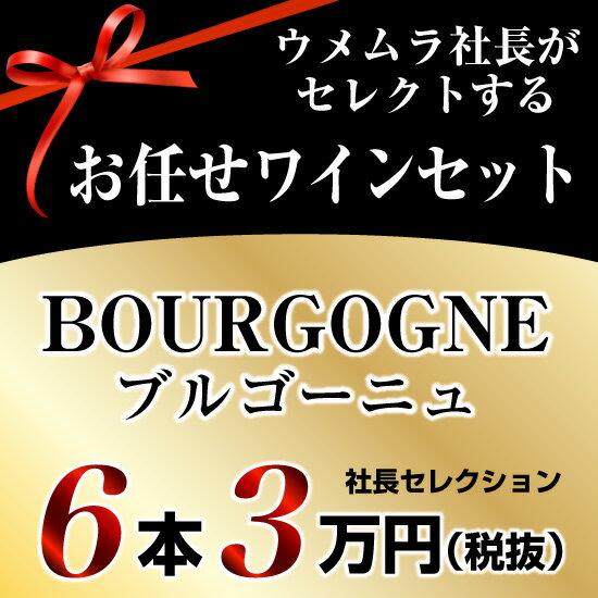 社長セレクション ブルゴーニュ ワイン6本セット (3万円)