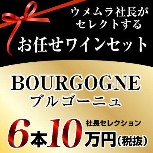 社長セレクションブルゴーニュワイン6本セット(10万円)