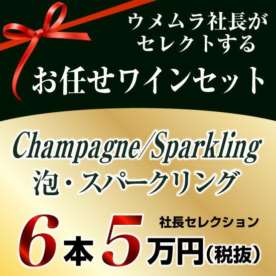 社長セレクション 泡 6本セット (5万円)
