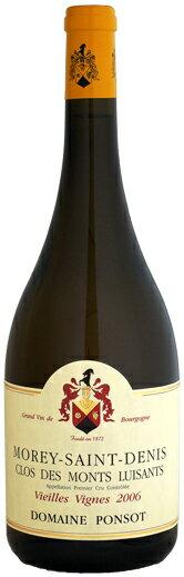 【マグナム瓶】ドメーヌ・ポンソ モレ・サン・ドニ 1er クロ・デ・モン・リュイザンVV [2006]1500ml (白ワイン)