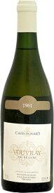 カーヴ・デュアール ヴーヴレイ ドミ・セック [1961]750ml (白ワイン)