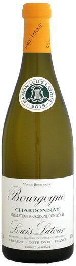 ルイ・ラトゥール ブルゴーニュ・シャルドネ [2015]750ml (白ワイン)