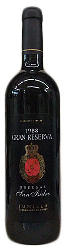 ボデガス・サン・イシドロ グラン・レゼルバ [1988]750ml