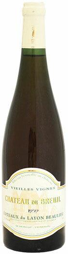 シャトー・デュ・ブルイユ コトー・デュ・レイヨン[1959]750ml (白ワイン)