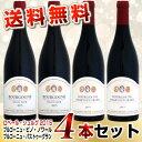 【送料無料】ドメーヌ・ロベール・シリュグ 晩酌ワイン 2015 4本セット (ピノ2本・パストゥ2本)