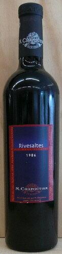 シャプティエ リヴザルト[1986]500ml