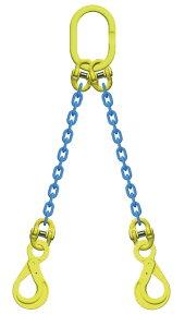 吊り具/マーテック/チェーンスリング/2点吊 10mm ロッキングフック 5t /TA2‐BK