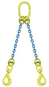 吊り具/マーテック/チェーンスリング/2点吊 8mm スイベルフック 3.2t /TA2‐BKL