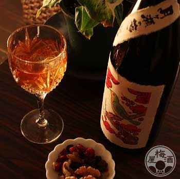 月ヶ瀬の梅原酒 1800ml【八木酒造/奈良県】【当日出荷便OK】