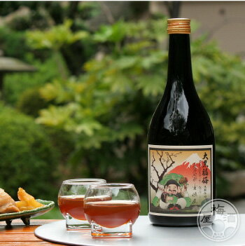 大黒福梅 1800ml【河内ワイン/大阪府】