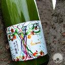 庭のうぐいす まるごとゆず梅酒 720ml【山口酒造場/福岡県】