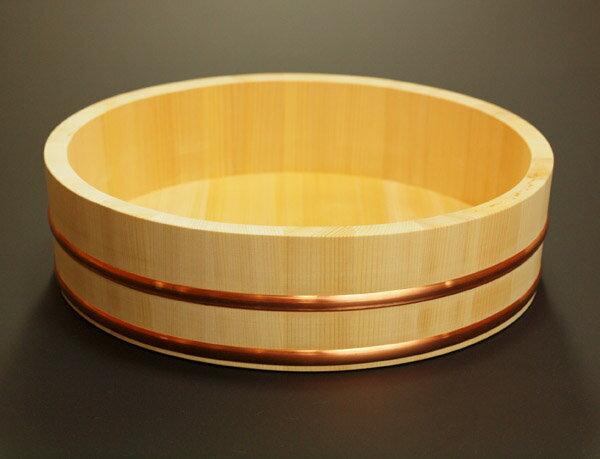 【送料無料】木曽さわらの特級厚口飯台【寿司桶・飯切】日本製 39cm