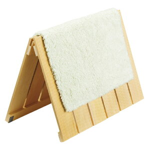 【ワケあり品】桧バスマットすのこ 小 折り畳み式