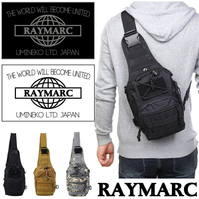 ボディバッグ メンズ レディース 防水 ワンショルダーバッグ 斜め掛け バッグ 通学 鞄 かばん 斜めがけ ワンショルダー レイマーク RAYMARC 001