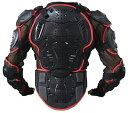 送料無料 レッド XXL UMiNEKO バイク 上半身プロテクター インライン スケート ジェイボード アイス メッシュ 3レイヤ…