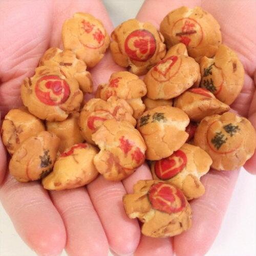 ハートと感謝のプリント豆菓子/Valentine's dayのありがとう豆助50g■10P03Dec16■