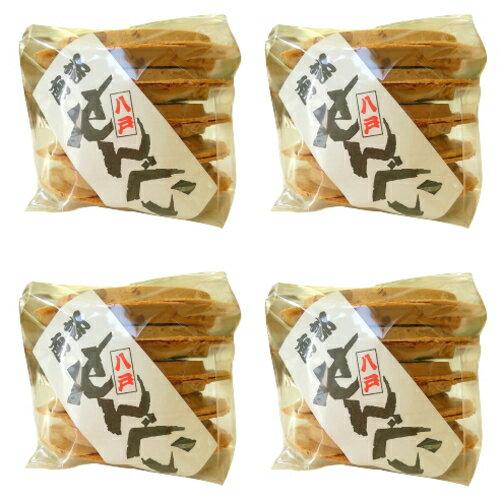 南部せんべい 豆(落花生ピーナッツ)10枚の4個セット 【工場直送】■10P03Dec16■