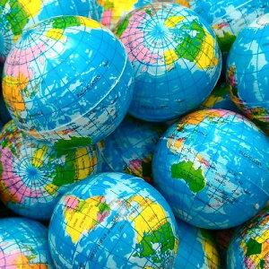 地球儀ウレタンボール