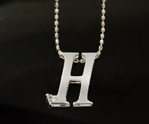 K18 ダイヤモンド イニシャル ペンダント トップ 「H」ネックレス ゴールド ダイアモンド アルファベット 18K 18金 誕生日 4月誕生石 メッセージ ギフト 贈り物